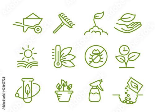 Fototapeta Set of icons