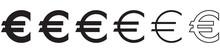 SYMBOLE EURO NOIR