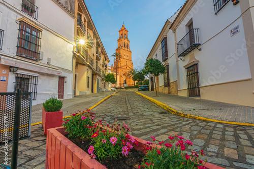 Una fotografía de la Parroquia de Santa María en Utrera.