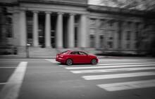 Red Car At Harvard