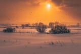 Wschód słońca - krajobraz