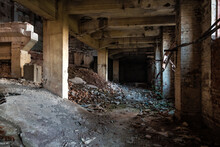 Ruins Of Abandoned Building