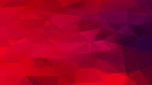 Abstract Layout With Bloody Red Tones Created With Geometric Triangles Placed