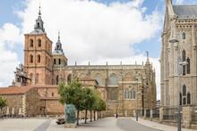 Cathedral Of Astorga (Catedral De Santa María De Astorga), Province Of Leon, Castile And Leon, Spain