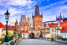 Prague, Czech Republic - Charles Bridge And Mala Strana
