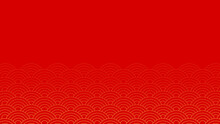 Chinese Background Vector. Free Space For Text. Wallpaper.