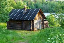 Finland Sauna Bath Wooden Cottage