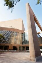 USA, Texas, Dallas, Exterior Of Morton H. Meyerson Symphony Center