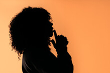 Afro Woman Silhouette