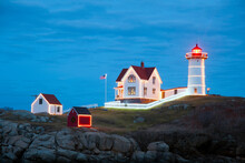 Maine Lighthouse Shines Bright For The Holiday Season