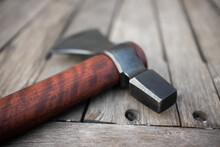 Tomahawk Axe With Thai Rosewood Handle.