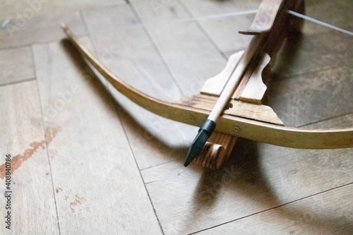 Antique crossbow with a arrow Fototapete