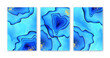 Blue abstract liquid backgrounds