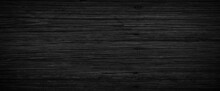 Dark Wood Background, Old Black Wood Texture For Background