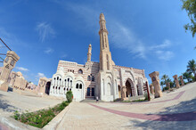 Al Mustafa Mosque, A Large Islamic Temple In The City Center. SHARM EL SHEIKH, EGYPT