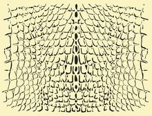 Reptile Skin. Animal Print Background.