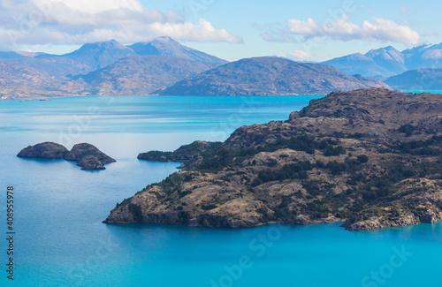 Fotografie, Tablou Lake in Patagonia
