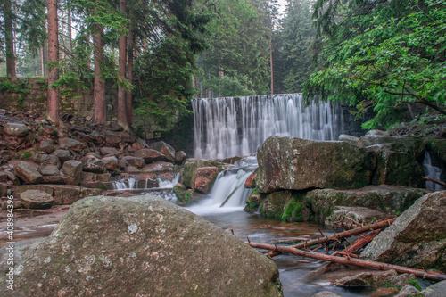 Dziki Wodospad w Karpaczu 2 - fototapety na wymiar
