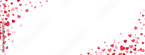 Fotografía Heart confetti frame