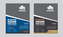 "Real Estate Flyer Template (Editable)   Specifications:   -Size 8.5""x11"" Inch   0.25 Inch Bleeds (Print Size)  - Fully Editable Illustrator AI & EPS File  - Resolution: 300 DPI  - Color Mode: CMYK  -"