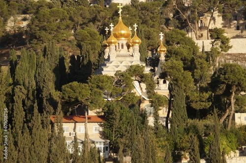 Obraz na płótnie The Church of St Mary Magdalene in Jerusalem