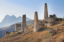 Russian Federation Ingushetia Towers Complex Pjaling