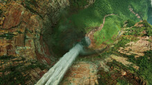 Angel Falls Is A Waterfall In Venezuela. It Is The World's Highest Uninterrupted Waterfall.