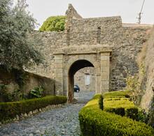 Entrance To Castelo De Vide