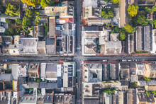 New Orleans French Quarter From In The Morning From Above