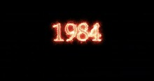 1984 Written With Fire. Loop