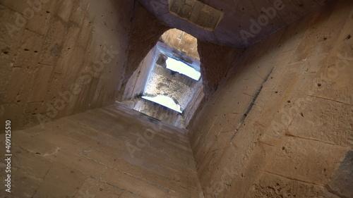 Fotografie, Obraz View inside the ruins Ancient Roman ruins