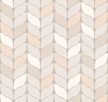 Seamless Pattern With Resembling A Rustic Knit Fabric Or Wheat In Natural Pastel Earth Tones Of Tan, Gray, Off-white And Beige. Versatile And Cozy, Works Well As A Background Or A Repeat Pattern.
