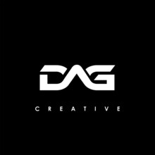 DAG Letter Initial Logo Design Template Vector Illustration