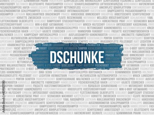 Dschunke Wallpaper Mural