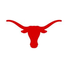 Texas Buffalo Icon Vector Logo Design Creative Idea Ranch Inspirations