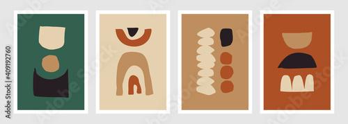 Fototapeta Abstract Geometric Art Prints Collection obraz na płótnie