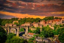 Knaresborogh Town, North Yorkshire, England. UK.