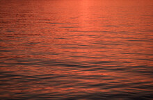 Sunset On The Sea, Gentle Waves
