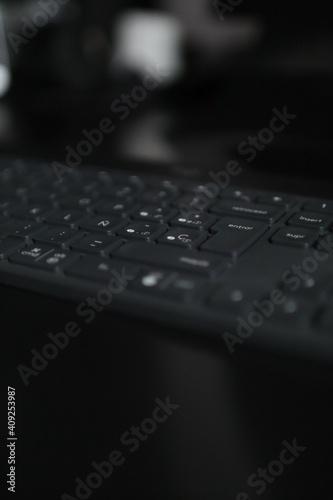 Canvas-taulu Teclado ordenador