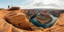 Horseshoe Bend, Part Of The Colorado River Near Page, Arizona.