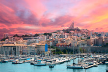 Early Morning Marseille Harbor