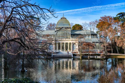 Madrid - Retiro Park - crystal palace