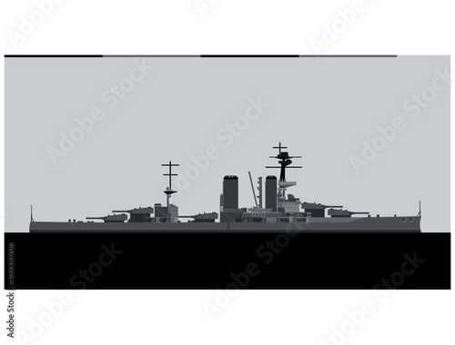 HMS CANADA 1915 Fotobehang