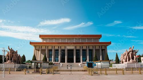 Fotografie, Obraz Mausoleum of Mao Zedong on Tien an men square in center of Beijing, China