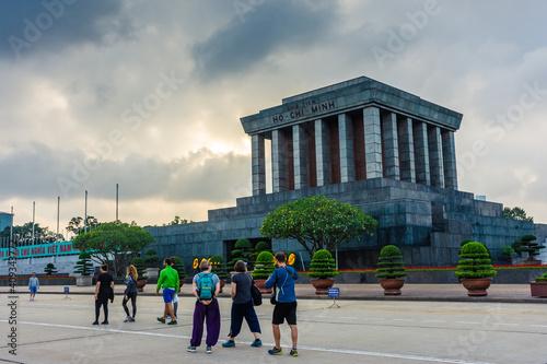 Fotografie, Obraz HANOI, VIETNAM, 4 JANUARY 2020: Mausoleum of Ho Chi Minh