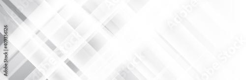 Photo White gray background