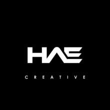 HAE Letter Initial Logo Design Template Vector Illustration