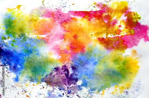 Colorful tie dye pattern abstract background. © tanor27