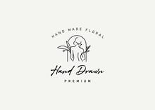 Beauty Nature Body Spa Logo Design Template
