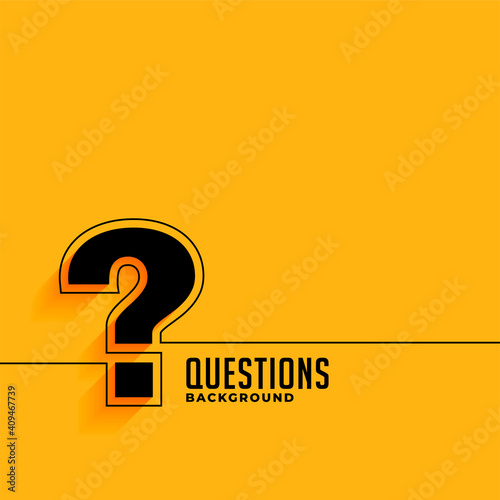 Canvas yellow web help and support question mark template